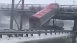 L'autoroute 40 en direction est rouvre à Repentigny après un spectaculaire