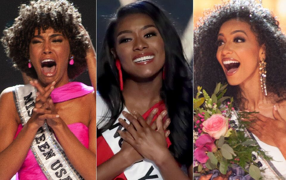 Miss USA, Miss Teen USA, Miss America Are All Black Women For First Time In Pageant