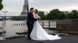 Un mariage à Paris pas très «glamour»
