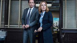 David Duchovny et Gillian Anderson au Comiccon de