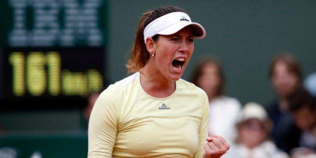 Tennis - French Open Women's Singles Final match - Roland Garros - Serena Williams of the U.S. vs Garbine...