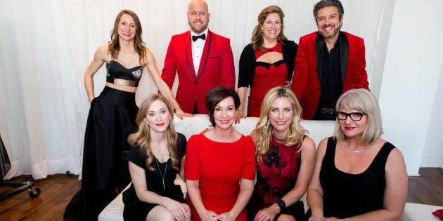 a0d3d151c19a6d La 3e édition de la soirée Robe Rouge au profit de la Fondation des  maladies du