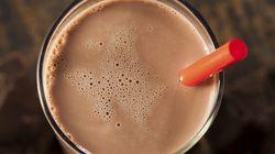 Rappel de lait au chocolat possiblement contaminé par la bactérie