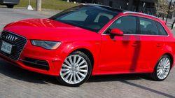 Audi A3 E-Tron 2016: un peu de