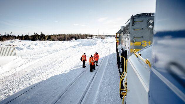 Découvrir le Nord un mille à la fois à bord du train