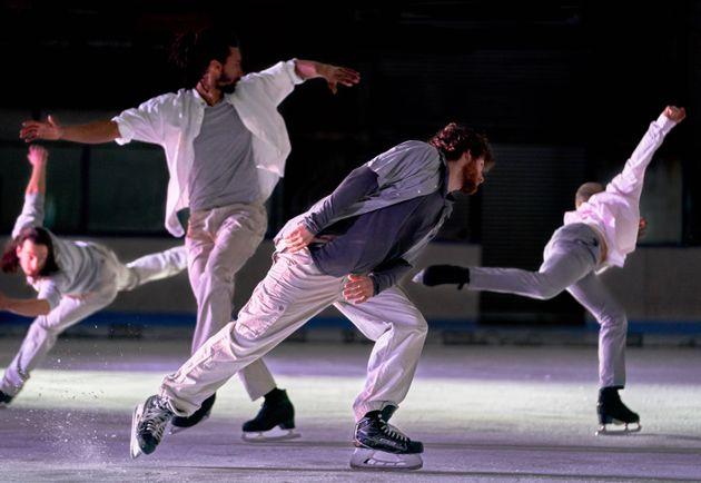 «Le Patin libre» dans le cadre de Danse Danse, à l'Aréna