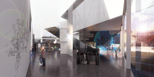 Le Musée d'art contemporain de Montréal change de