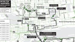 Tour la nuit et Tour de l'île de Montréal: quelles rues seront fermées?