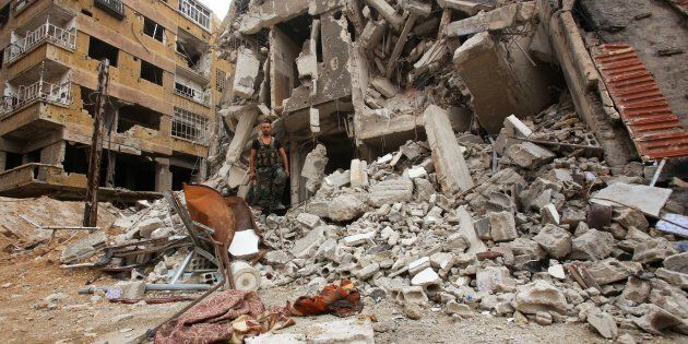 L'armée syrienne annonce la reprise totale de l'enclave rebelle dans la