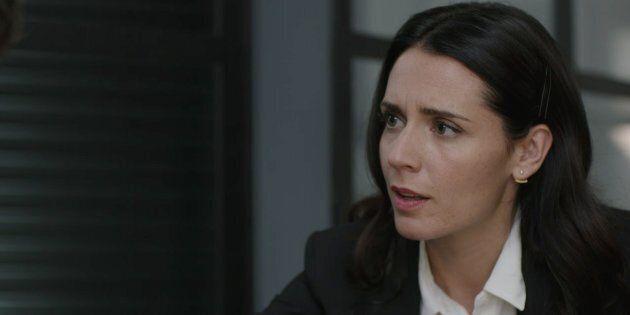Ariane victime d'un père fou furieux dans la finale de «Ruptures»