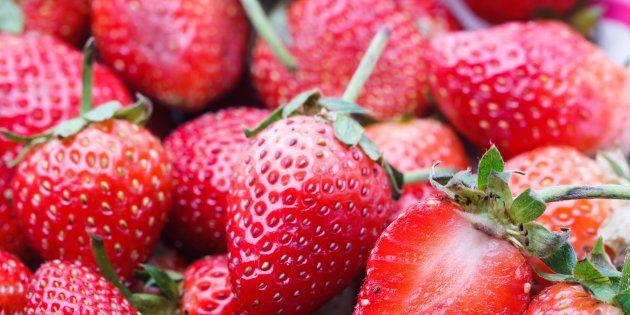 Rappel de fraises congelées vendues chez