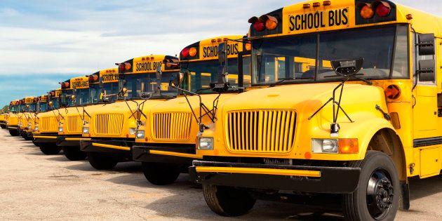 Des chauffeurs d'autobus d'écoliers seront en grève sur la Rive-Sud de Montréal