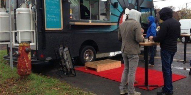Cuisine de rue à Québec: «beaucoup plus que les