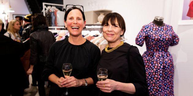 Julie Pesant et Anne Dorval