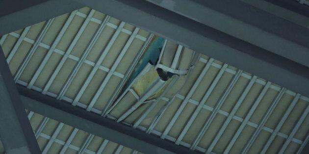 Des dégâts au toit du Rogers Centre causent l'annulation du match des Blue
