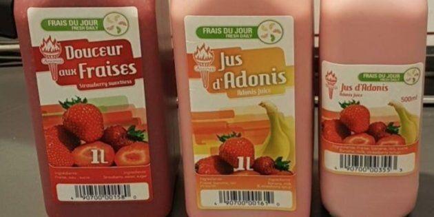 Rappel des cocktails à base de fraises vendus par