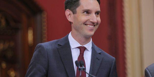 Le ministre des Transports, André