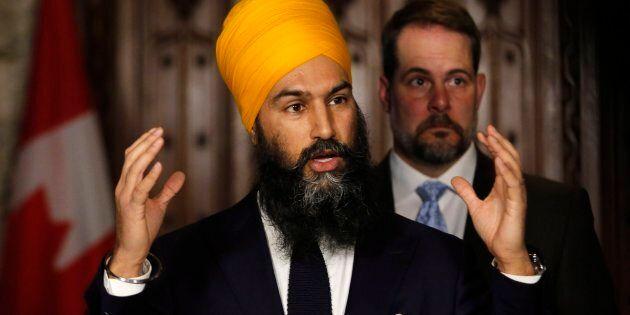Jagmeet Singh évalue sérieusement la possibilité de se lancer dans Outremont pour le siège laissé vacant...
