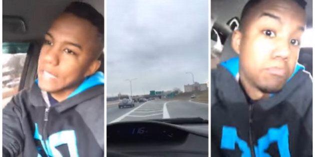 Il fait un Facebook Live en roulant à 160 km/h et cause un