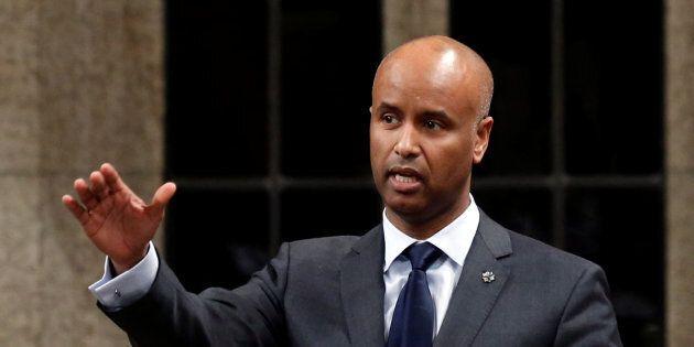 Le ministre fédéral de l'Immigration, Ahmed