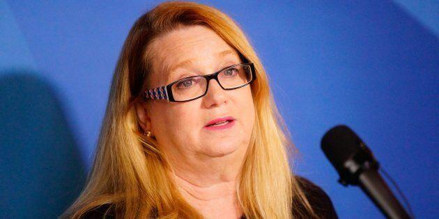 Carole Poirier, la leader parlementaire du Parti