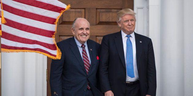 L'ex-maire de New York Rudy Giuliani nouvel avocat de
