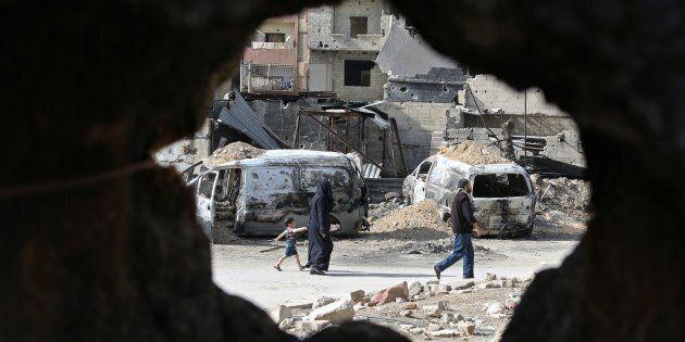 Les frappes en Syrie: quand la guerre est politiquement plus payante que la