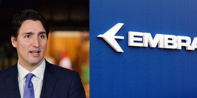 Subventions à Bombardier : le concurrent brésilien Embraer met en garde