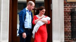 Le prince William et son épouse Kate Middleton dévoilent le nom de leur troisième