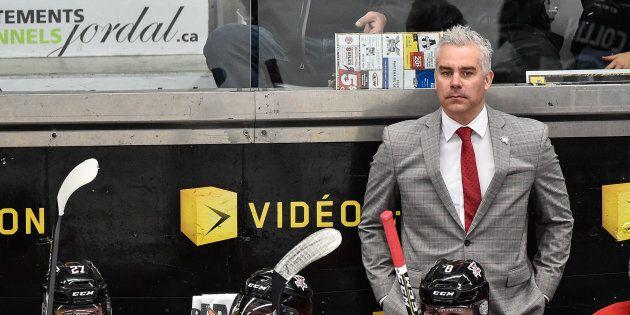 Dominique Ducharme était l'entraîneur-chef et directeur général des Voltigeurs de