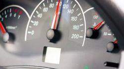 Un jeune arrêté pour avoir roulé à 116 km/h dans une zone de 50