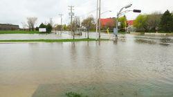 La crue des cours d'eau sous surveillance en raison des précipitations