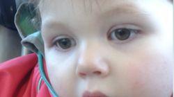 Une envolée de ballons a eu lieu samedi à Québec pour la petite Rosalie