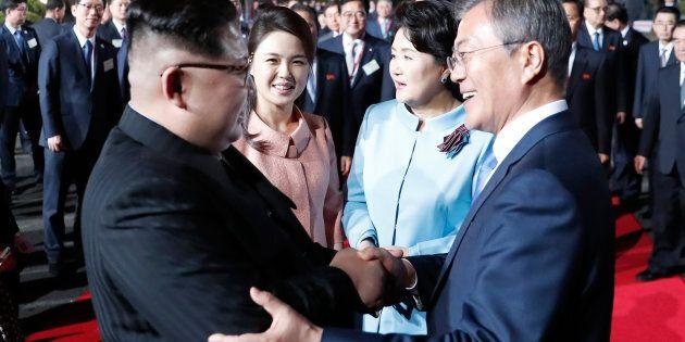 Rencontre avec Kim: «les choses se passent très bien», dit
