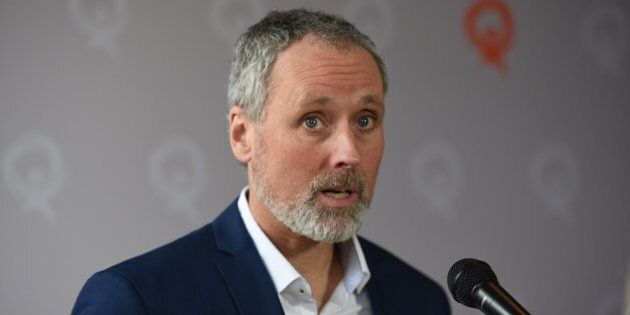 Le candidat de Québec Solidaire dans Rosemont, Vincent