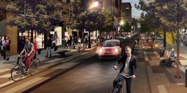 La Coalition vélo de Montréal s'en prend à la mairesse Valérie