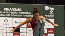 Abel obtient le bronze au tremplin de 3 m individuel à