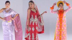 Les plus belles robes de mariée viennent d'Asie