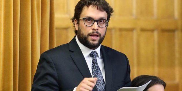 Le porte-parole du Groupe parlementaire québécois en matière d'industrie, Gabriel Ste-Marie.