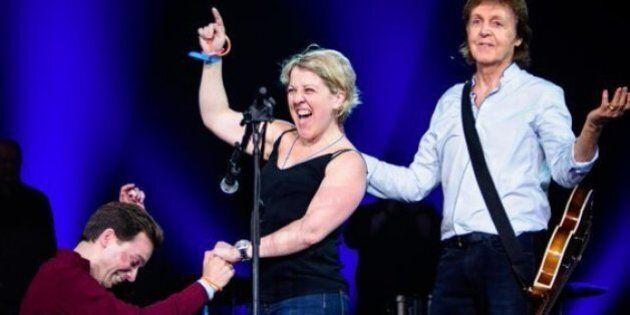 Des fiançailles et une Marseillaise pour Paul McCartney à