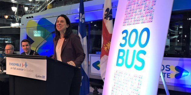 L'ex-ministre Daniel Breton fustige Valérie Plante pour l'achat de 900 autobus