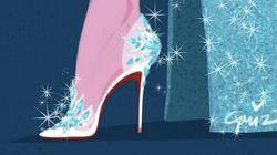 Si les princesses de Disney portaient des chaussures de créateurs