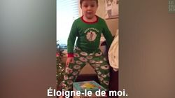 Ce petit garçon n'aurait jamais dû demander ÇA à Noël