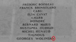 Grosse faute sur la plaque d'hommage aux victimes de «Charlie