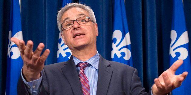 Jean-Marc Fournier, leader parlementaire du gouvernement