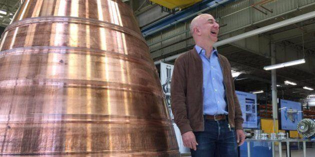 Blue Origin procède à un troisième lancement de fusée spatiale au