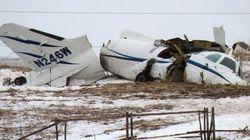 Écrasement d'avion aux Îles : tout est ramassé avant d'envoyer la carcasse à