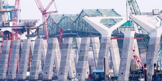 Du pont Champlain vers le pont