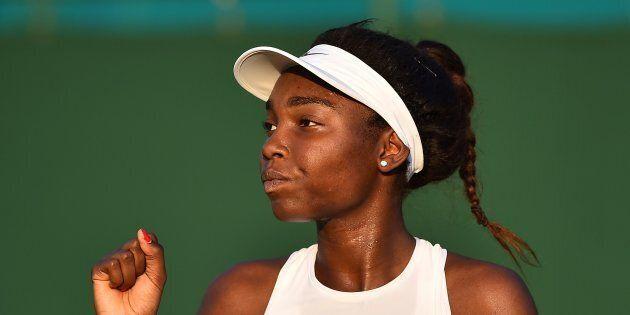 La joueuse de tennis québécoise Françoise Abanda se dit victime de discrimination