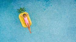 Cette photo de piscine montre les dangers des réservations en